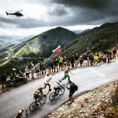 TDF 2015 Quintana and Valverde on the attack on the Croix de Fer by jeredgruber