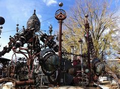 Dr. Evermor's Forevertron  Highway 12 N of Sauk City, Wisconsin