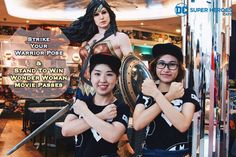 From now till 11 Jun, stand to WIN movie passes to catch Wonder Woman in cinemas when you:  1️⃣ Take a photo with the Wonder Woman life-sized figurine outside DC Super Heroes Cafe at The Shoppes at Marina Bay Sands (L1-03) 2️⃣ Strike Wonder Woman's signature warrior pose 3️⃣ Share your photo on Instagram/Facebook and tag DC Comics Super Heroes Cafe - Official (IG: @dcshcafe) in your photo (Group/family shots are welcome too!) — 10 winners will be picked in total and each winner will walk…
