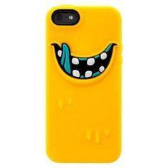 SwitchEasy MONSTERS - Etui iPhone 5 + folie na ekran (żółty)  http://www.e-walizki.pl/produkt/switcheasy-monsters-etui-iphone-5-folie-na-ekran-zolty.html