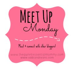 MeetUp Monday Link Party