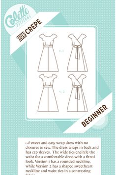 Great easy pattern - going to do this in a black on black swiss dot fabric!