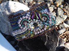 Hey, I found this really awesome Etsy listing at https://www.etsy.com/listing/234290974/shibori-silk-cuff-bracelet-glamour-girl