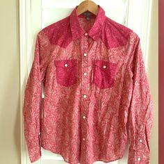 Ralph Lauren cowgirl shirt (LRL Lauren Jeans) Size PL fits regular S/M , perfect with short jeans and Texas boots Ralph Lauren Tops Button Down Shirts