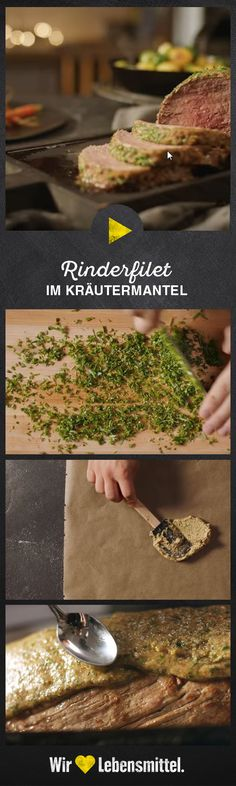 #rinderfilet #fleischrezept #kräuter #weihnachten #edeka