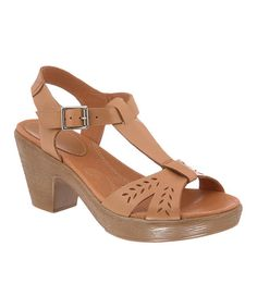 Suntan Mercer Leather Sandal