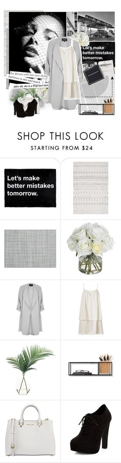 """""""#3"""" by stalya ❤ liked on Polyvore featuring Oris, Chilewich, Diane James, River Island, Heidi Klein, NDI, Umbra, MICHAEL Michael Kors and New Look"""