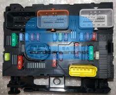 engine fuse box delphi bsm to suit: citroen c2 c3 mk2 c3 pluriel