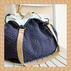 crochet home: handbag