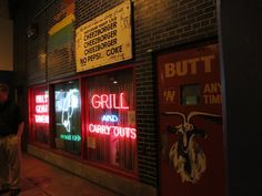 The Billy Goat Grill - Chicago by Myra Luker