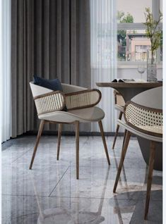 Luxury Dining Chairs for Your Modern Dining Room! French Furniture, Table Furniture, Luxury Furniture, Cool Furniture, Outdoor Furniture Sets, Furniture Design, Furniture Cleaning, Futuristic Furniture, Furniture Movers