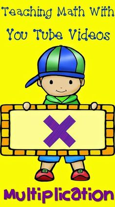 Get your students up and moving around the room while learning multiplication! These fun songs and videos from You Tube are a great way to provide a movement break and practice important multiplication concepts at the same time. Math Songs, Learning Multiplication, Teaching Math, Fun Songs, Multiplication Strategies, Creative Teaching, Teaching Tips, Student Learning, Math For Kids