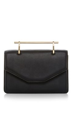 Indre Calf Leather Crossbody Bag by M2MALLETIER Now Available on Moda Operandi
