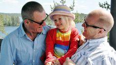 Lapselle ei ole väliä, onko vanhempi biologinen isä vai sosiaalinen isä. Tärkeintä on rakkaus.