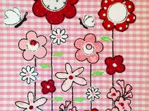 Blumenreihe 13 x 18 Doodles, Kids Rugs, Embroidery, How To Make, Decor, Handmade Gifts, Thanks, Floral, Decorating