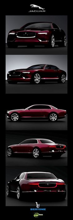 Jaguar XJ, by Bertone. Finally, classic forever.