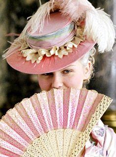Kirsten Dunst as Marie Antoinette in the movie by Sofia Coppola Sofia Coppola, Kirsten Dunst, Marie Antoinette Movie, Mardi Gras, 18th Century Fashion, Rococo Style, Versailles, Costume Design, Burlesque