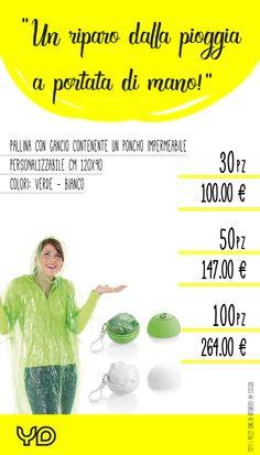 impermeabili disponibili in diversi colori, stampa 1 colore  alessandra@yellowduck.it 392.3648411