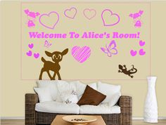Wall decals are proven to be a great way to add personality to a room, create your own with our customizer for a unique design! www.styleandapply.com #walldecal #customizer #style #decals #decor #interior #stickerart #walldecor #amazing #wallart #fun #sticker #homedecor