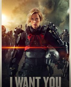 Edge of Tomorrow. Emily Blunt