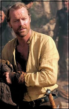 Ser Jorah is supposedly not a handsome man, but they cast Iain Glen anyway.