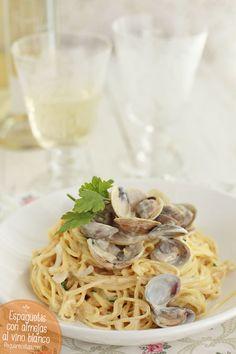 Espaguetis con almejas, ¡simplemente deliciosos!