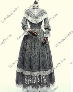 Victorian Gothic Historical Steampunk Pirate Lolita Patterned /& Lace Capelet