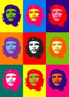 Pop Art Vintage Graphics Andy Warhol 66 Ideas For 2019 Animal Art Projects, Toddler Art Projects, Art Pop, Crayon Canvas Art, Andy Warhol Pop Art, Che Guevara, Pop Art Portraits, Oeuvre D'art, Art Techniques