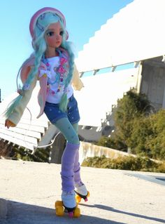 Wool Dolls, Felt Dolls, Bjd Dolls, Barbie Dolls, Pretty Dolls, Cute Dolls, Beautiful Dolls, Barbie Summer, Anime Dolls