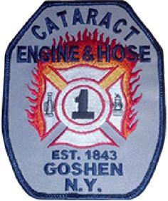 Goshen Fire Department - Cataract Engine and Hose Company  Logo