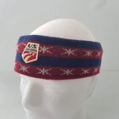US Ski Team Head Ear Warmer Band Fleece Lined Stretch Vintage Stars Stripes Olympics by TraSheeWomen on Etsy 80s Outfit, Hats For Sale, Ear Warmers, Olympics, Skiing, Beanie, Stripes, Stars, Trending Outfits