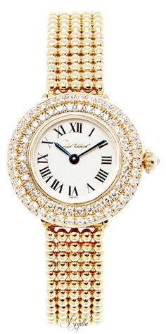 Cartier ~ Timepiece w Diamonds