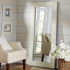Coaster Furniture Beveled Floor Mirror - 24W x 72H in. - 901807 ...