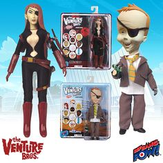 The Venture Bros. Molotov and Billy Quizboy Action Figures - Bif Bang Pow! - Venture Bros. - Action Figures at Entertainment Earth