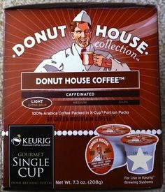 Donut House Collection Donut House Coffee KCup Portion Pack for Keurig Brewers 72 Count >>> Check this awesome product by going to the link at the image.