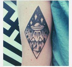 Spaceship twin peaks x files