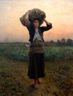 Jules Breton, The Shepherd's Star, 1887... one of my most favorite paintings, at the Toledo Museum of Art
