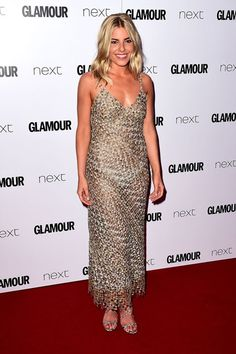 Mollie King in Ermanno Scervino - The GLAMOUR Awards 2016 in London - June 7, 2016