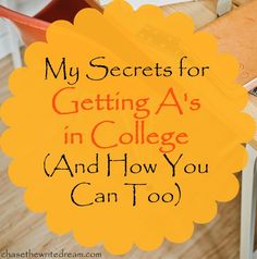 I'm sharing my secret tips for getting good grades in college! By making these simple changes, I was able to raise my GPA and graduate with honors. These are college tips every student could use. Click to check them out!