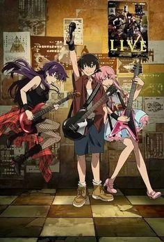 The Wallpaper Of Anime - Mirai Nikki Anime Cosplay, Chica Anime Manga, Anime Art, Yuno Mirai Nikki, Mirai Nikki Future Diary, Yandere Girl, Yuno Gasai, Animes Yandere, Film D'animation