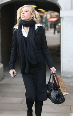Chelsy Davy Photos: Chelsy Davy Heading To Lunch On First Day Of Training At Law Firm