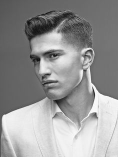 Take a good, long look at these beautiful images created by the American Crew finalists from their All-Star Challenge, including the winning shot by Jerome Kantner of Germany. Mens Modern Hairstyles, Teen Boy Hairstyles, Modern Haircuts, Short Hairstyles For Women, Haircuts For Men, Funky Hairstyles, Formal Hairstyles, Short Haircuts, Wedding Hairstyles