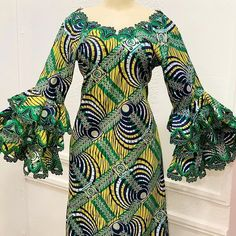 ‐Luxury Kaftan ‐For the classy woman 💥 ‐Embroidered - Madeena Usman M media photos videos African Maxi Dresses, Latest African Fashion Dresses, African Print Fashion, African Attire, African Wear, African Design, Ankara Styles, Classy Women, Fashion Outfits