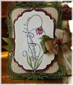 Heartfelt Creations | Decorative Framed Blossom