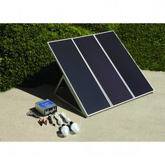 Solar Energy Kit 45 watt. Would this be enough to run a Reprap and Laptop?