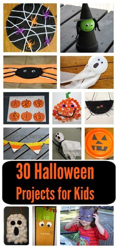 30 DIY Halloween Crafts & Activities For Kids || The Chirping Moms