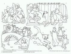 .De gelaarsde kat - volgorde verhaal
