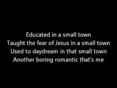 Small Town John Mellencamp lyrics
