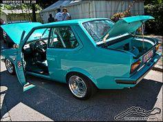 custom vw | Wörthersee Pics: Blue Mk1 VW Derby custom on PLS wheels