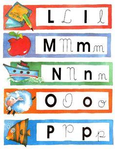 Estas fichas coloridas são ótimas para montar jogos com a turma! Por exemplo, embaralham-se as fichas e cada criança retira uma. Ela pode fa... Apps For Teaching, Giza, Letters And Numbers, Classroom Activities, Alphabet, Preschool, Clip Art, Writing, How To Plan